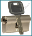 Cilindro MUL-T-LOCK MT5+ Europerfil 62mm Latón