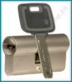 Cilindro MUL-T-LOCK MT5+ Europerfil 76mm Latón