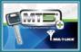 Cilindro MUL-T-LOCK MT5+ Europerfil 76mm Latón