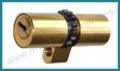 Cilindro MUL-T-LOCK MT5+ perfil Suizo 71mm Latón para Arcu