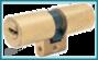 Cilindro MUL-T-LOCK MT5+ perfil Suizo 71mm Latón para Ezcurra Sea 23 y Kesso